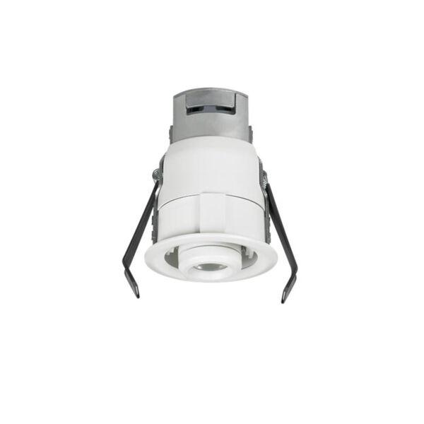 Lucarne White LED Recessed 24V 2700K Gimbal Round Down Light, image 2