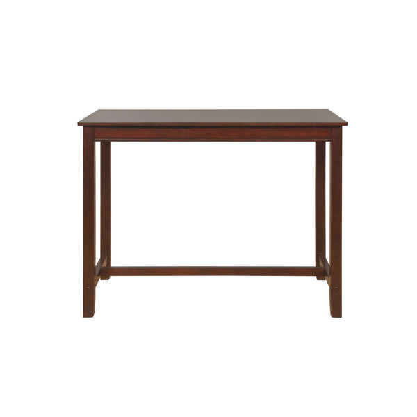 Ian Espresso Brown 36-Inch Counter Height Pub Table, image 1