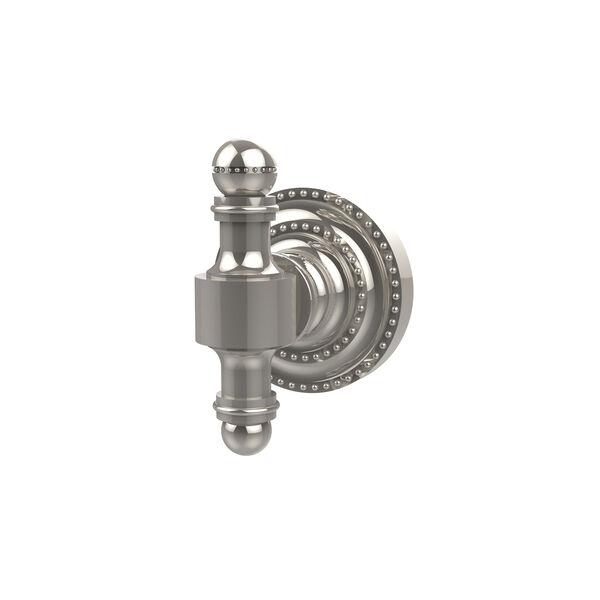 Retro-Dot Polished Nickel Utility Hook, image 1