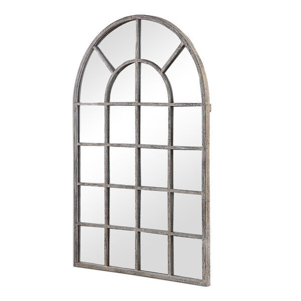 Grace Arched Rustic Gray Mirror, image 5