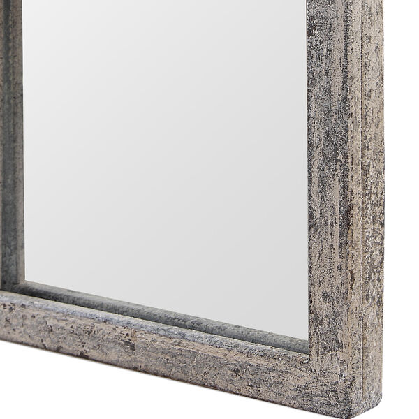 Grace Arched Rustic Gray Mirror, image 3