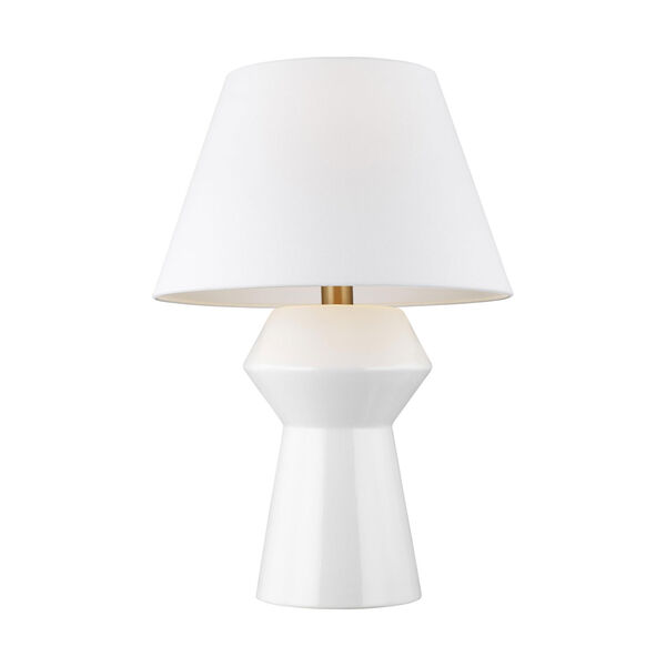 Abaco Arctic White 17-Inch LED Inverted Table Lamp Title 24, image 2