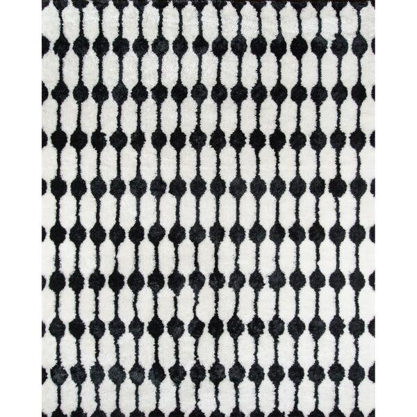 Retro Black  Rug, image 1