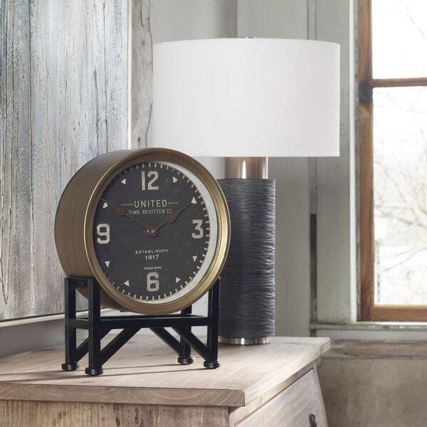 Strathmore Brushed Nickel Table Lamp, image 4