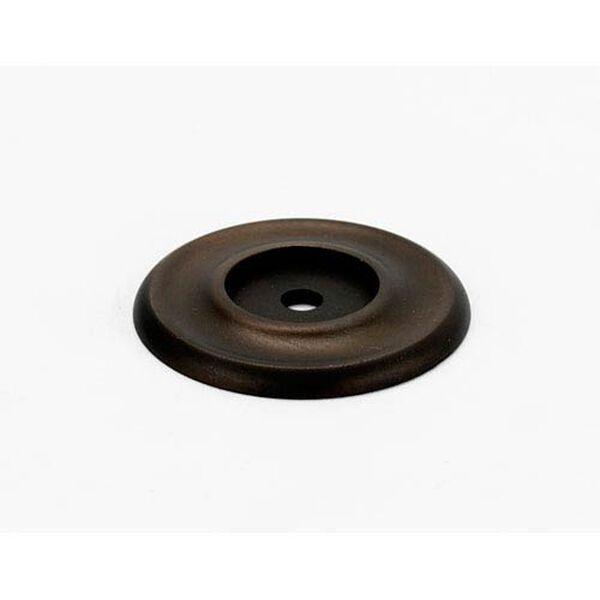 Chocolate Bronze 1 3/4-Inch Backplate, image 1