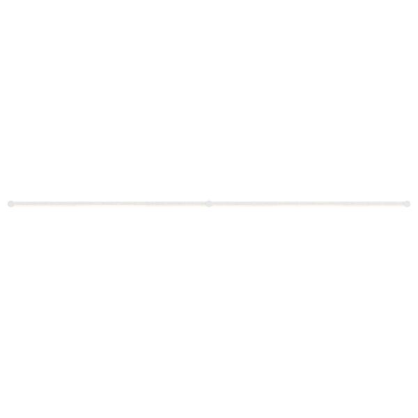Purolinear 360 Satin White Two-Light Double Linear LED Wall Bar, image 1