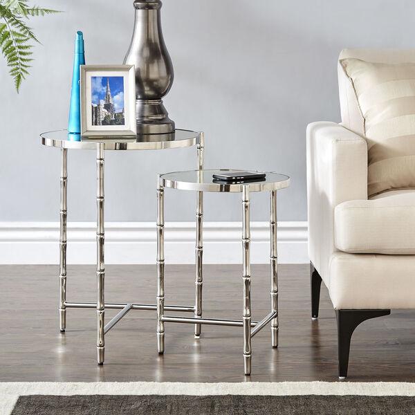 Milo Silver Nesting Table , image 5
