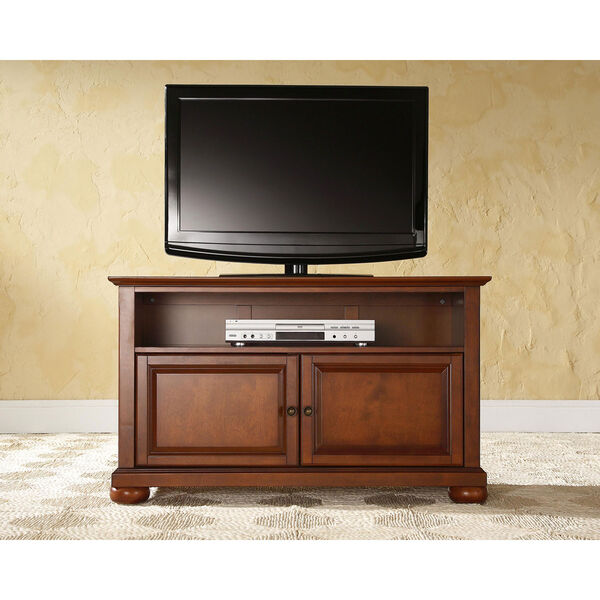 Alexandria 42-Inch TV Stand in Classic Cherry Finish, image 5