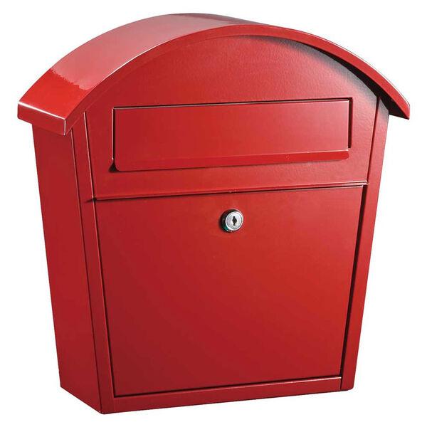 Ridgeline Locking Mailbox in Red, image 1