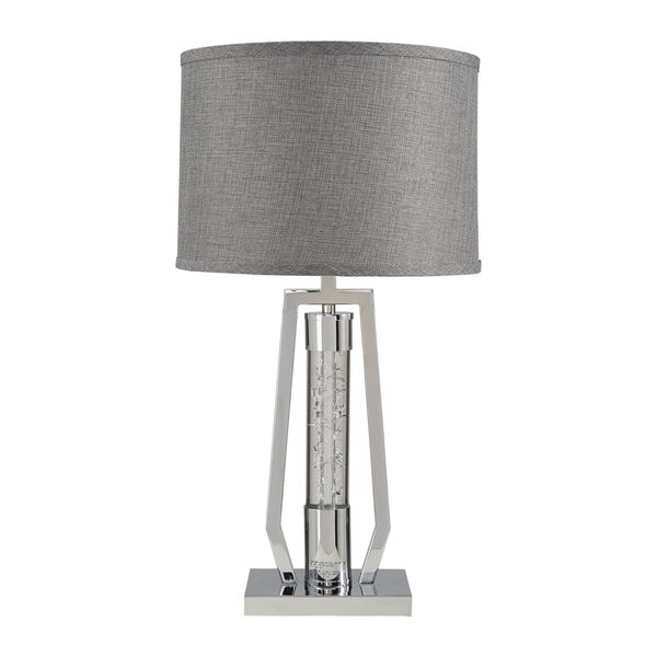 Hayes Chrome One-Light Table Lamp, image 1