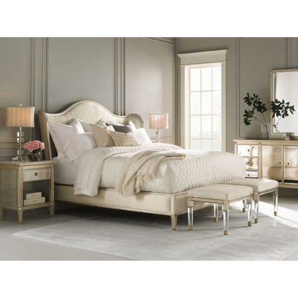 Classic Ivory Queen Bed, image 4