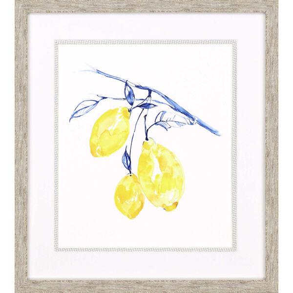 Watercolor Lemons II Yellow Framed Art, image 2