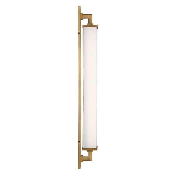 Gatsby Aged Brass LED ADA Wall Sconce, image 3