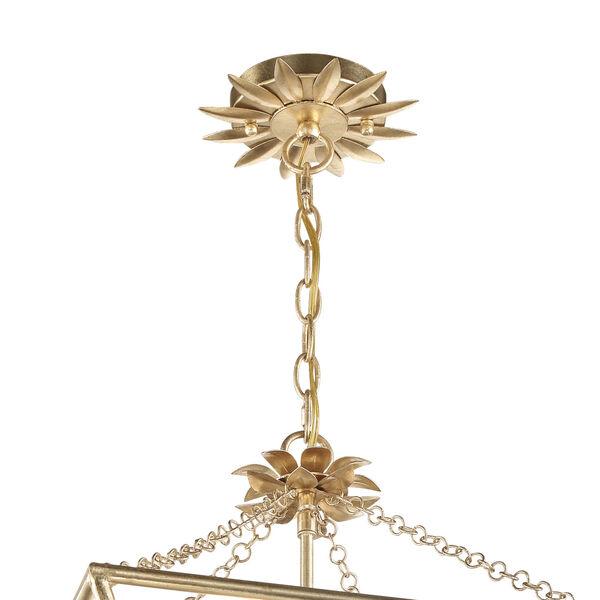 Broche Antique Gold Four-Light Pendant, image 5
