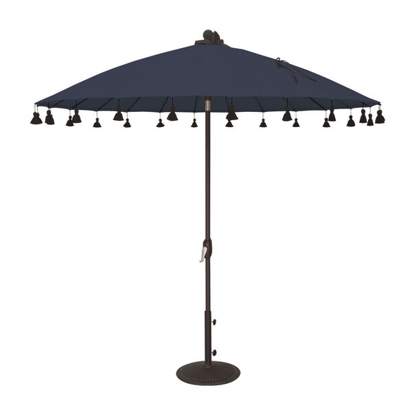 Isabela Navy 8.5-Feet Round Auto Tilt Umbrella, image 1