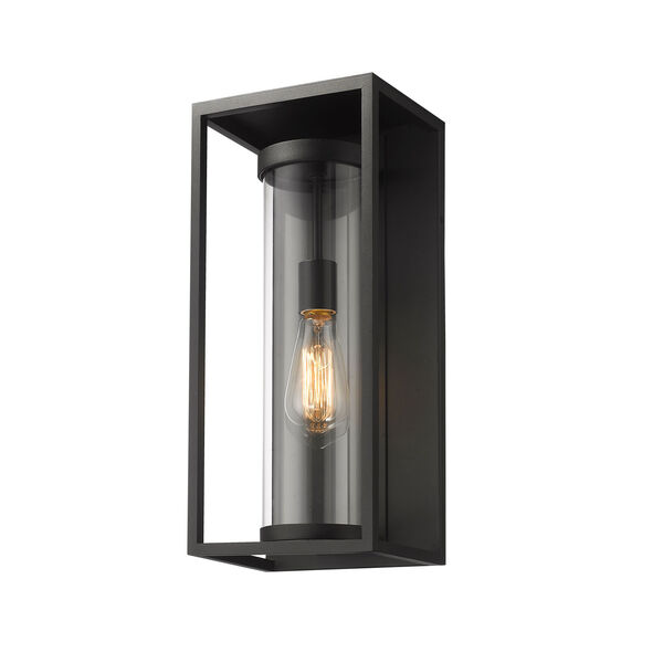 Dunbroch Black 18-Inch One-Light Outdoor Wall Sconce, image 1