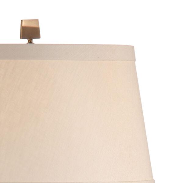 Beige One-Light 12-Inch Dawson Lamp, image 3