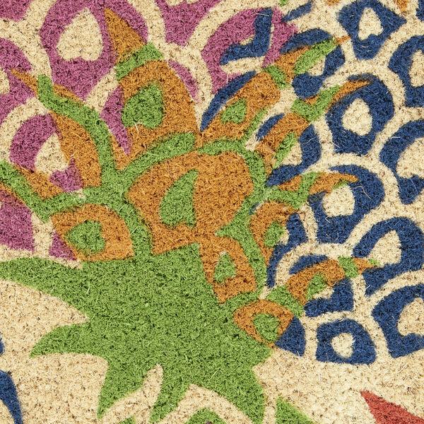 Wav17 Greetings Multicolor Rectangle Door Mat, image 6