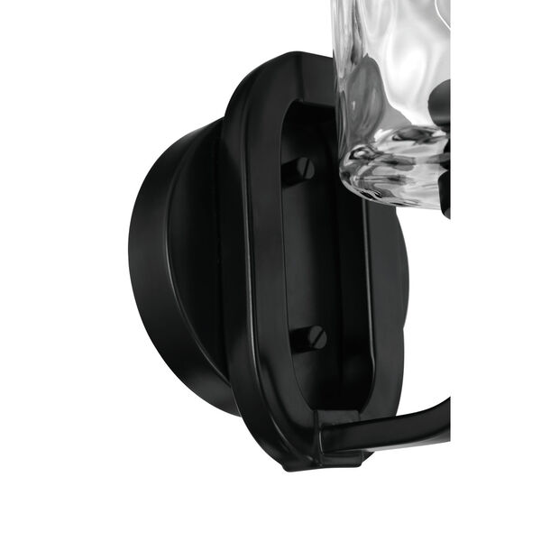 Collins Flat Black One-Light Wall Sconce, image 6