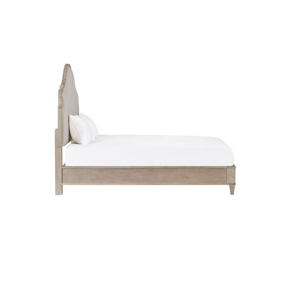 Kirby Susanna Weathered Oak Upholstered Queen Bed, image 6