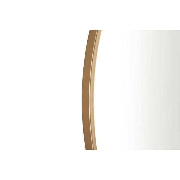 Eternity Brass Round 32-Inch Mirror, image 6
