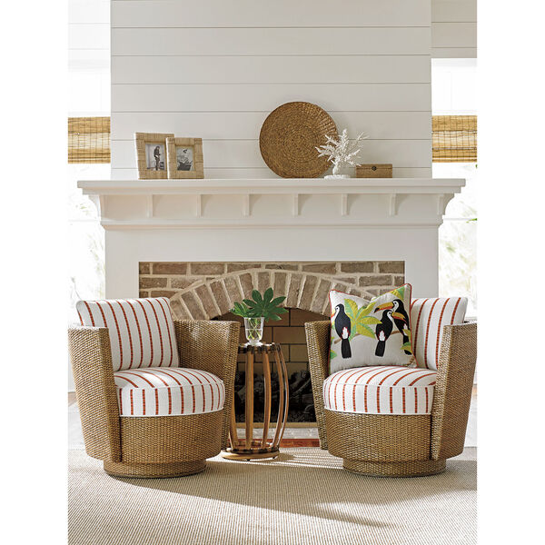 Twin Palms Brown Weston Accent Table, image 3