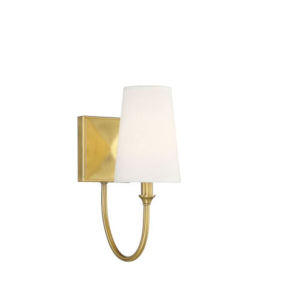 Anna Warm Brass One-Light Wall Sconce, image 3