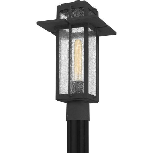 Randall Mottled Black One-Light Outdoor Post Mount, image 4