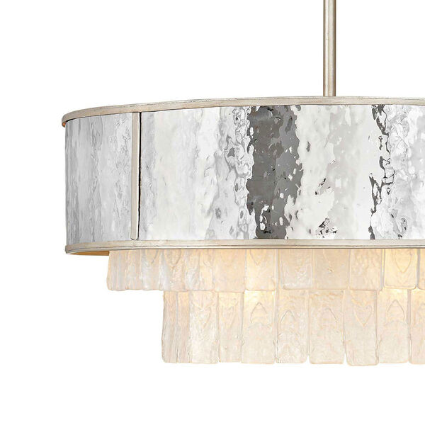 Reverie Champagne Gold 26-Inch Eight-Light Chandelier, image 5
