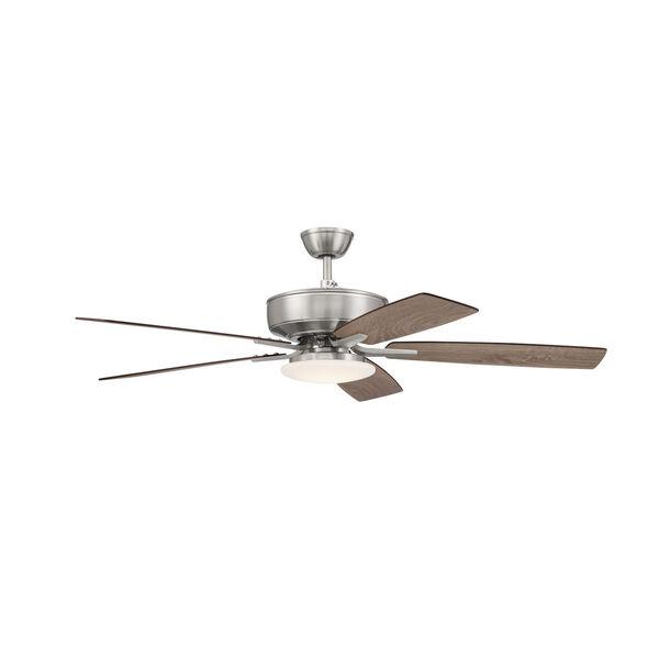 Pro Plus Brushed Polished Nickel 52-Inch LED Ceiling Fan, image 3