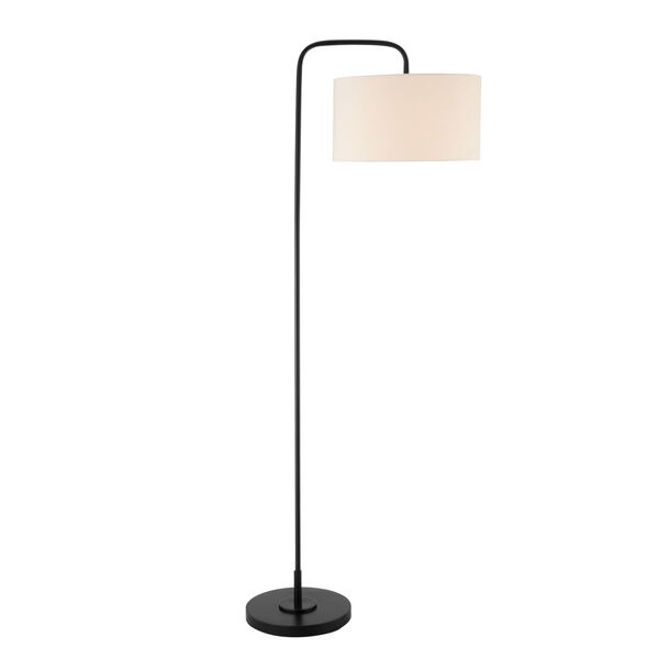 Orea Black One-Light Floor Lamp, image 1