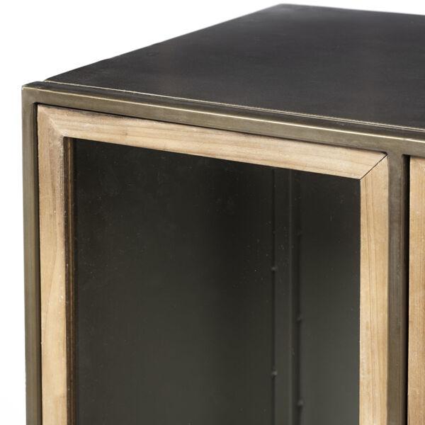 Pandora II Brown Door Display Cabinet, image 4