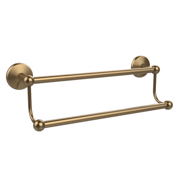 Prestige Monte Carlo Brushed Bronze Double Towel Bar, image 1