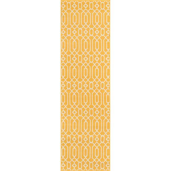 Baja Links Yellow Indoor/Outdoor Rug, image 5