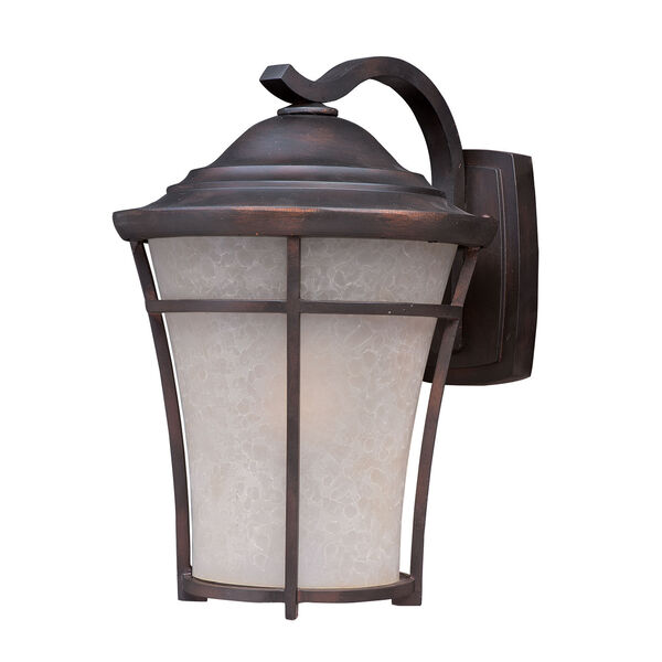 Balboa DC LED E26 Copper Oxide 10-Inch One-Light Outdoor Wall Mount, image 1