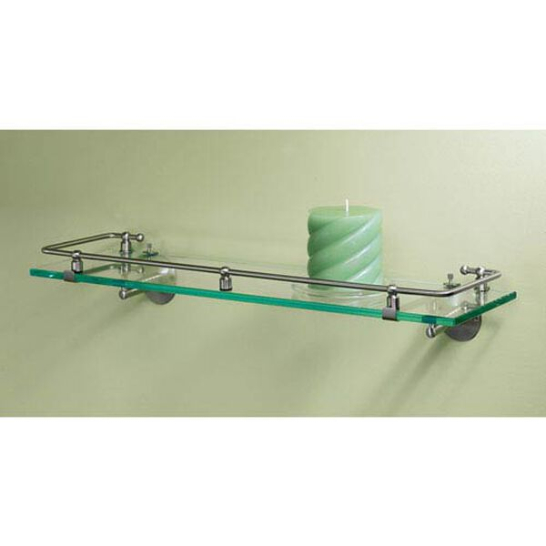 Premier Satin Nickel Railing Shelf, image 2