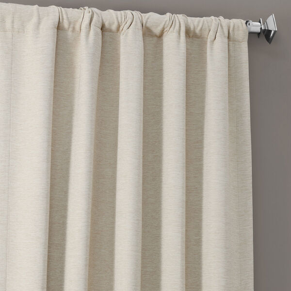 Bellino Cottage White 50 x 96-Inch Blackout Curtain, image 4