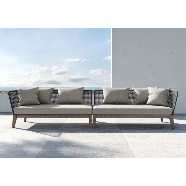 Netta Outdoor Right Arm Sofa, image 10