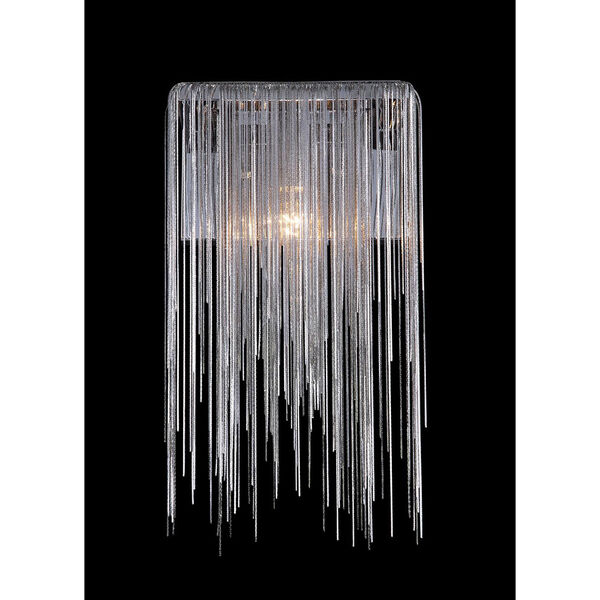 Fountain Blvd. Chrome One-Light Wall Sconce, image 1