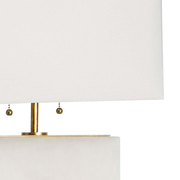 Ali Natural Stone Two-Light Table Lamp, image 4