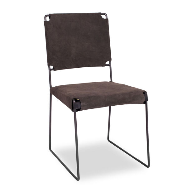 Melbourne Dark Gray Dining Chair, Set of 2, image 2