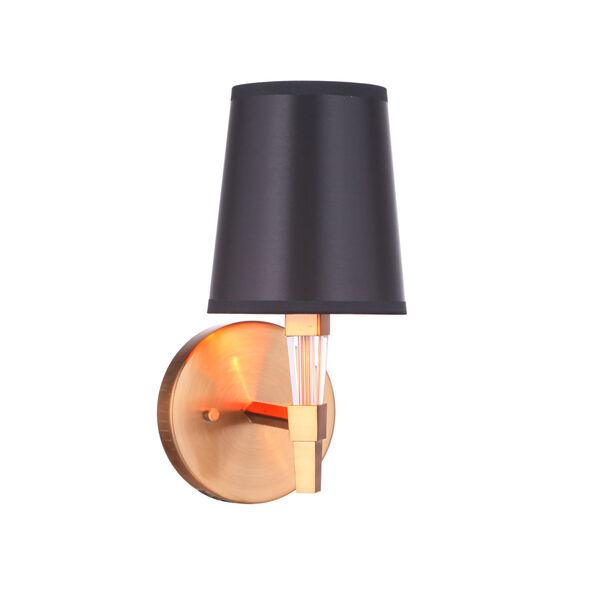 Tarryn Satin Brass One-Light Wall Sconce, image 4