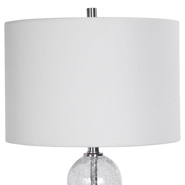 Vivian Brushed Nickel 29-Inch One-Light Table Lamp, image 4