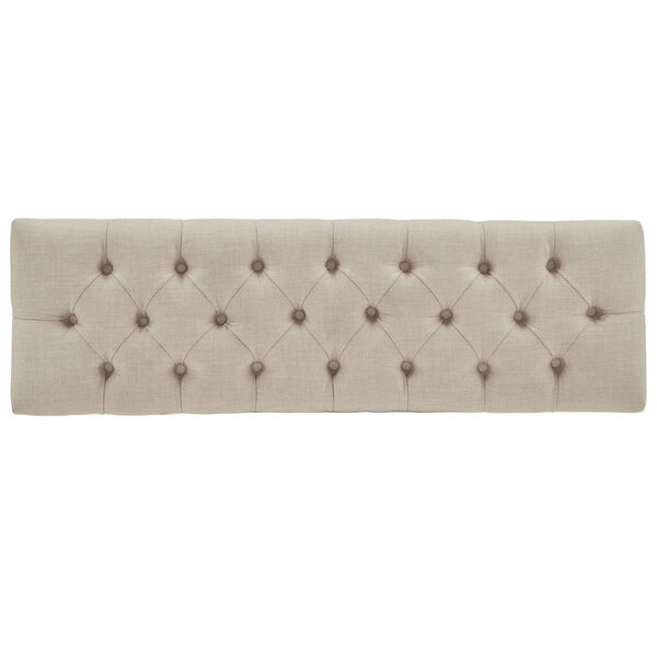 Amy Beige Tufted Reclaimed Uphlstered Bench, image 5