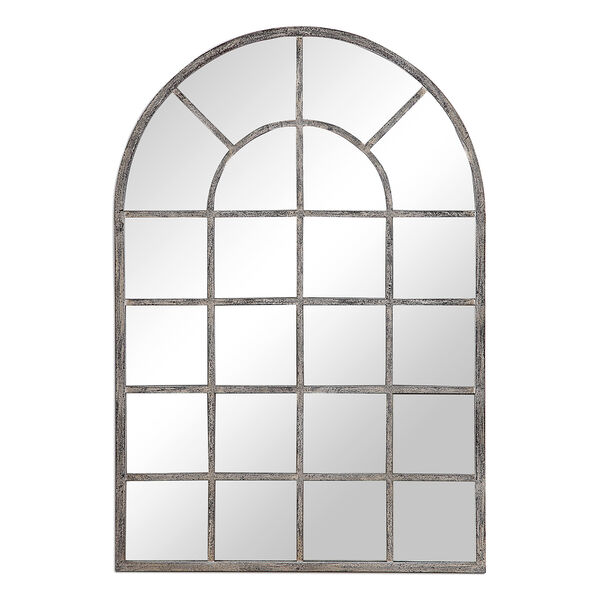 Grace Arched Rustic Gray Mirror, image 2