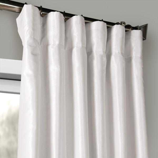 Ice Vintage Textured Faux Dupioni Silk Single Panel Curtain, 50 X 120, image 2