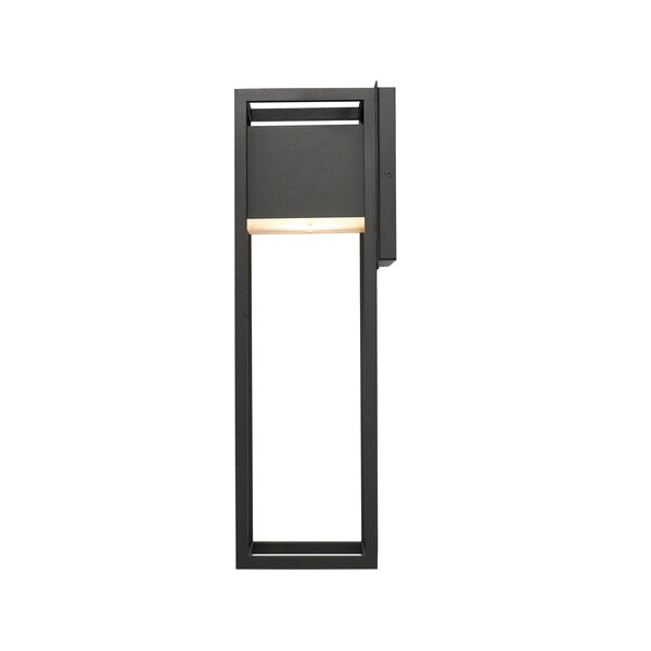 Barwick Black 8-Inch One-Light LED Outdoor Wall Sconce, image 5