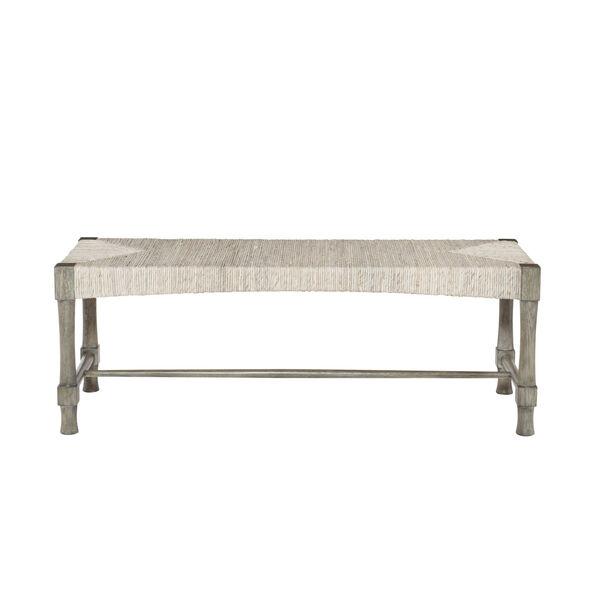 Palma Rustic Gray Bench, image 1