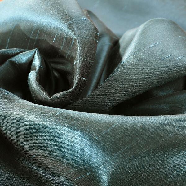 Peacock Vintage Textured Faux Dupioni Silk Single Panel Curtain, 50 X 108, image 7