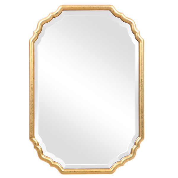 Cooper Gold Framed Wall Mirror, image 2